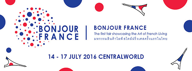 Bonjour france bangkok f te le 14 juillet central world - Chambre de commerce franco thai ...