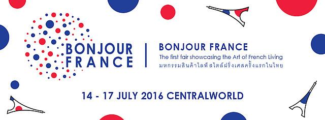 Bonjour France : Bangkok fête le 14 juillet à Central World !