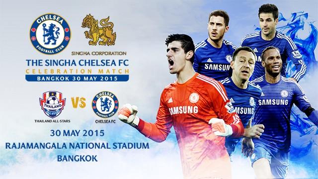 Chelsea et Liverpool en tournée à Bangkok Thailande cet été