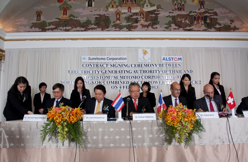 Contrat de 80 millions d'euros pour Alstom en Thailande