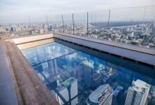 BANGKOK : A 314 mètres, sur la terrasse transparente de Mahanakorn