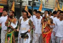 Dégustation et processions extraordinaires pour le Festival Végétarien en Thaïlande