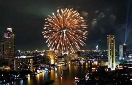 Bangkok dans le Top 10 des meilleures destinations pour le Nouvel An