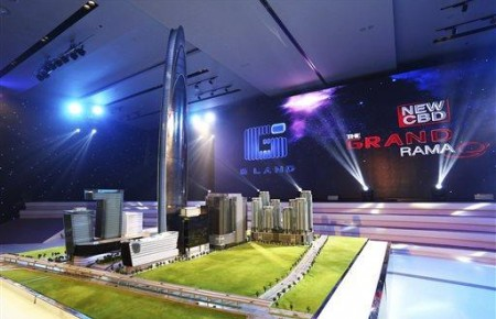 La Super Tower, futur projet immobilier démentiel  de Bangkok