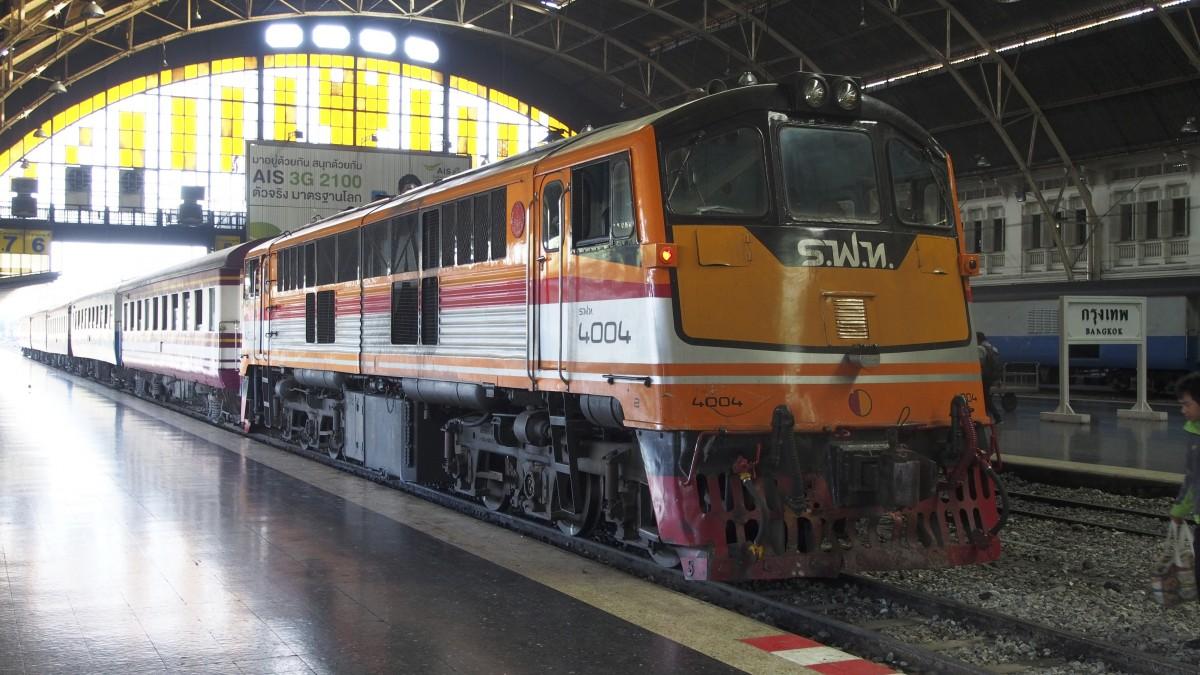 Des trains Bangkok - Chiang Mai tout confort à partir du mois prochain !