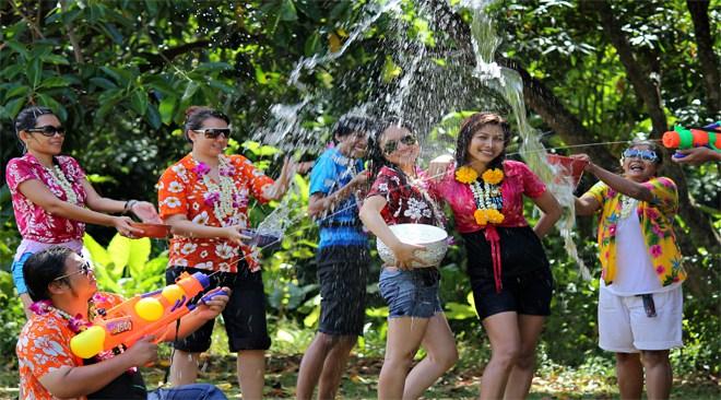 Festivités, interdictions, programme : ce qu'il faut savoir sur Songkran 2017