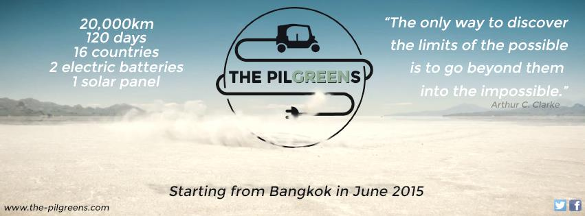 The Pilgreens Project : Un périple Bangkok-Toulouse branché en tuk-tuk électrique !
