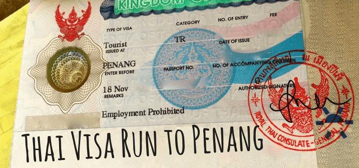 Visa run en Thailande, ça se complique encore